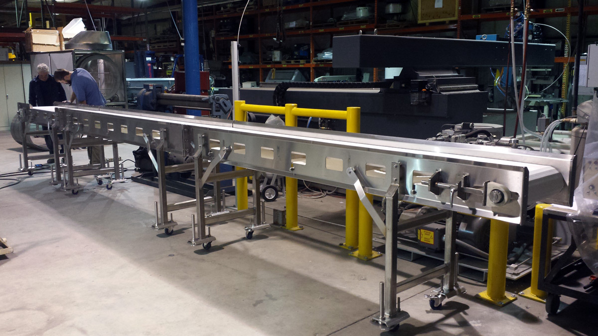 Custom conveyor RSE Denver