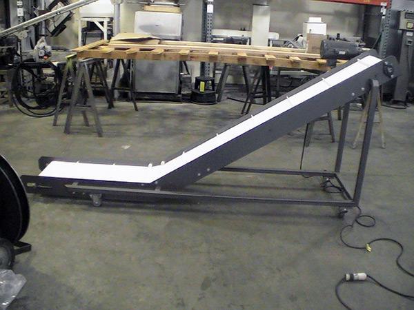 Material Handling Equipment | Incline Conveyor